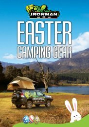 17 Easter Camping Brochure