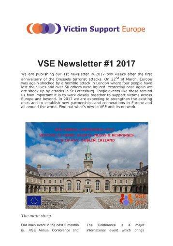 VSE Newsletter #1 2017
