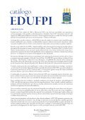 CATALOGO EDUFPI  - Page 5