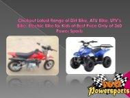 Chekout Latest Range of Dirt Bike, ATV