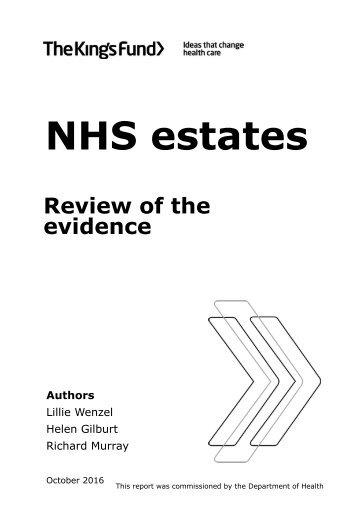 NHS estates