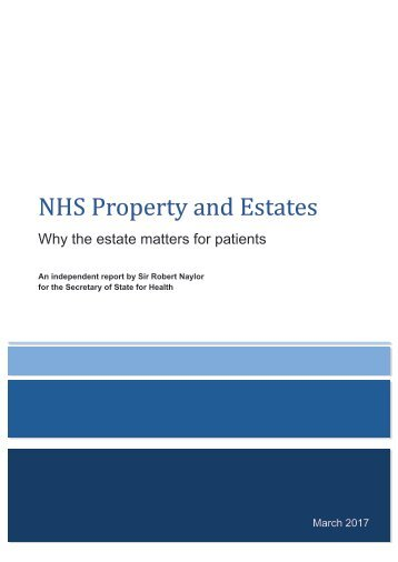 NHS Property and Estates