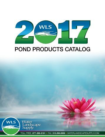 WLS Pond Products Catalog 2017