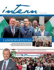 19. Ausgabe Intern, 2016