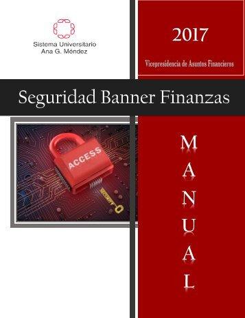 Manual Seguridad Banner Finanzas