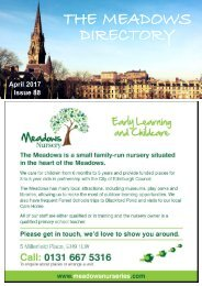 The Meadows Directory April17