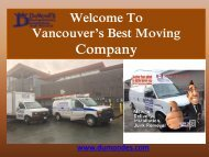 Handyman Installations in  Vancouver| DuMonde Moving