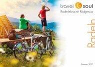 travel & soul Radbroschüre