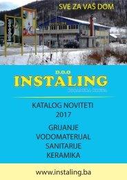 Katalog noviteta 2017 - Instaling d.o.o.