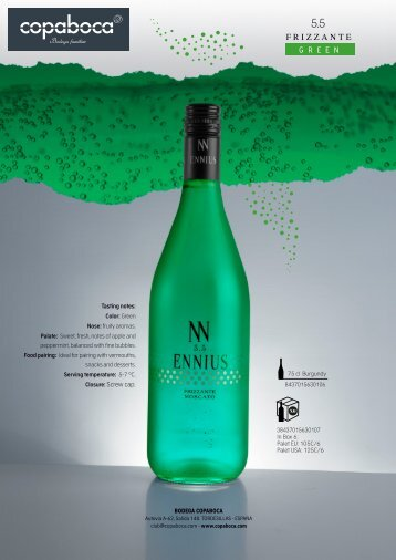 Copia de green moscato ENNIUS 5,5%