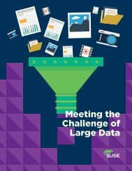Challenge of Large Data