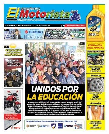 ELMOTORISTA Edicion 3 de Abril