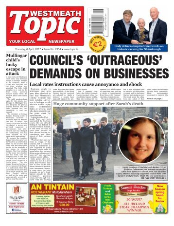Westmeath Topic - 6 April 2017