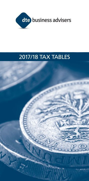 2017/18 TAX TABLES