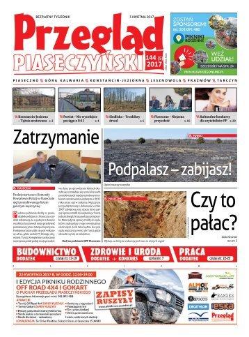 Przegląd Piaseczyński, Wydanie 144