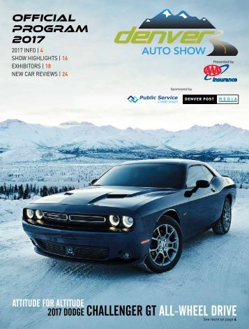2017 Denver Auto Show Official Program