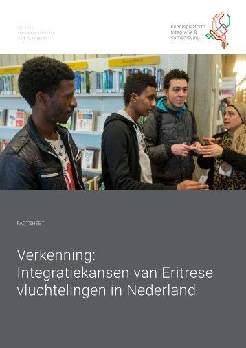 Verkenning Integratiekansen van Eritrese vluchtelingen in Nederland
