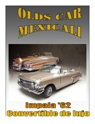 proyecto de revista olds car