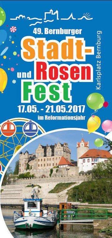 Programm Stadtfest Bernburg