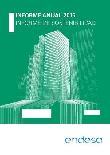 INFORME ANUAL 2015 INFORME DE SOSTENIBILIDAD