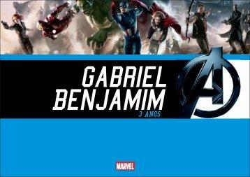 Gabriel Benjamim 3 Anos - Album
