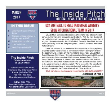 The Inside Pitch