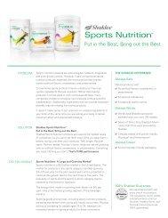 Sports Nutrition™ - Shaklee