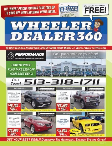 Wheeler Dealer Issue 14, 2017