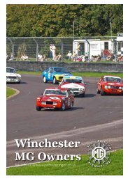 Winchester MG Owners Club