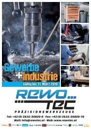 REWOTEC Gewerbe & Industrie Katalog 2017/18