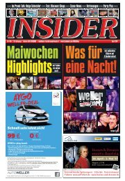INSIDER Osnabrück // April 2017 // No. 405