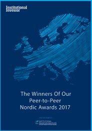 Peer-to-Peer Nordic Awards 2017