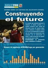Construyendo el futuro - Federación Española de Baloncesto