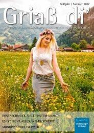 Griaß di`Magazin für Memmingen/Unterallgäu und Würtembergisches Illertal