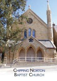 Chipping Norton Baptist Church