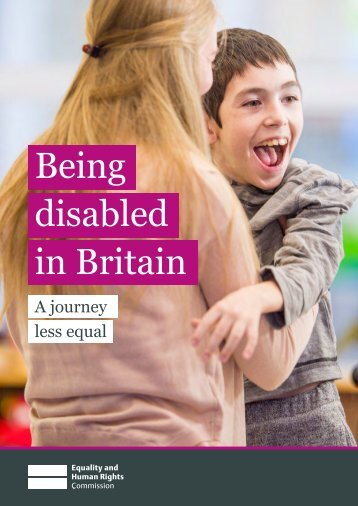 Being disabled in Britain