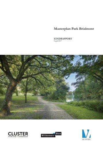 Definitief masterplan Park Brialmont