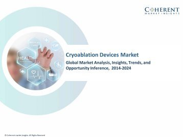 Cryoablation Devices Market - Global Industry Insights, Trends and Opportunity Analysis, 2016–2024