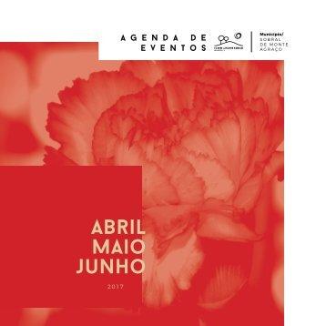 Agenda de Eventos Abril | Maio | Junho