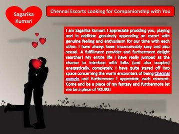Chennai Escorts Looking for Companionship with You