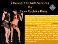 Chennai Escorts Services