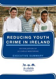 REDUCING YOUTH CRIME IN IRELAND