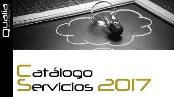 Catálogo Servicios 2017