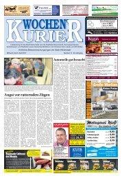 Wochen-Kurier 14/2017 - Lokalzeitung für Weiterstadt und Büttelborn