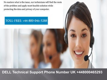 Dell Computer Support Phone Number UK +44-800-046-5288