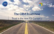 The CRM Roadshow