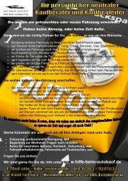 Flyer Car kauf Service