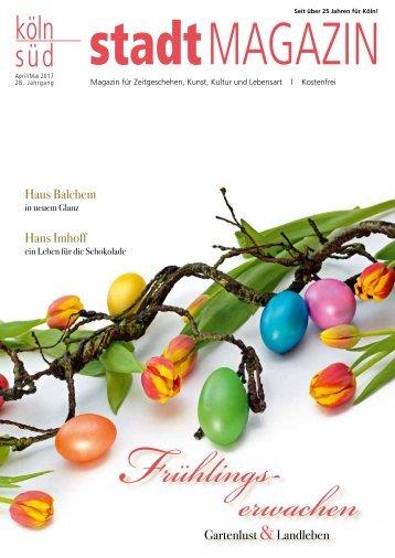 stadtMAGAZIN köln-süd | Ausgabe April-Mai 2017