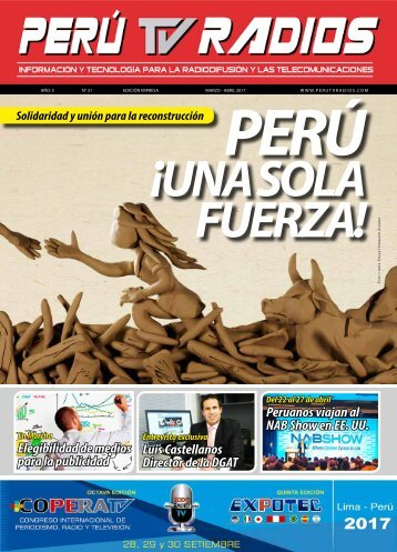 Revista PERÚ TV RADIOS Edic. Mar- Abr 2017