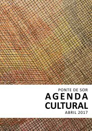 Agenda Cultural abril 2017